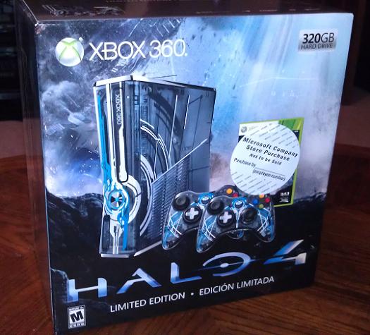 Halo 4 Edition Xbox